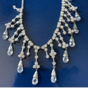 Crystal And CZ Necklace